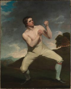 The bare-knuckle boxer Richard Humphreys
